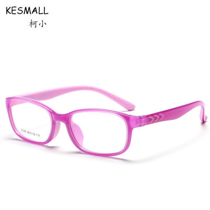 189090e2ab78 2019 KESMALL 2018 New Children Computer Glasses Frame Boys Girls Fashion  Brand TR90 Myopia Eyeglasses Frames Clear Lens Eyewear XN395 From  Fashionkiss