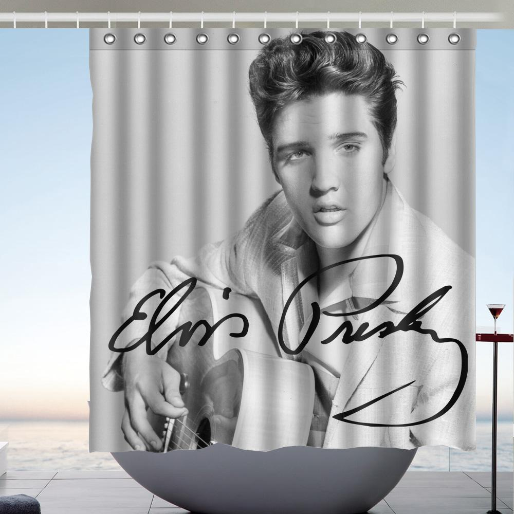 2019 Elvis Presley 02 High Quality Fabric Bathroom Shower Curtain 66 X 72 Inches From Littleman913 402