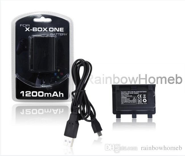 Sostituzione Battery Pack Xbox One X Slim controller ricarica bacino doppio della stazione del caricatore ricaricabile via cavo USB Batterie