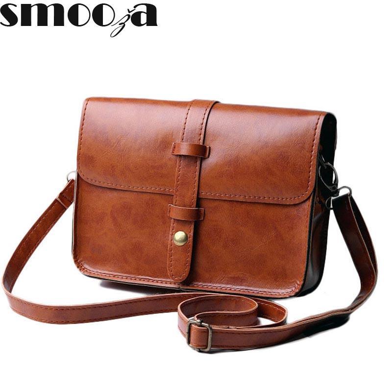 85f66279da2 SMOOZA New Flap Bag Fashion Women Messenger Bags Tote Shoulder CrossBody Bag  Sac a Main Femme De Marque Casual Simple Style De Marque Flap Bag Bag Tote  ...