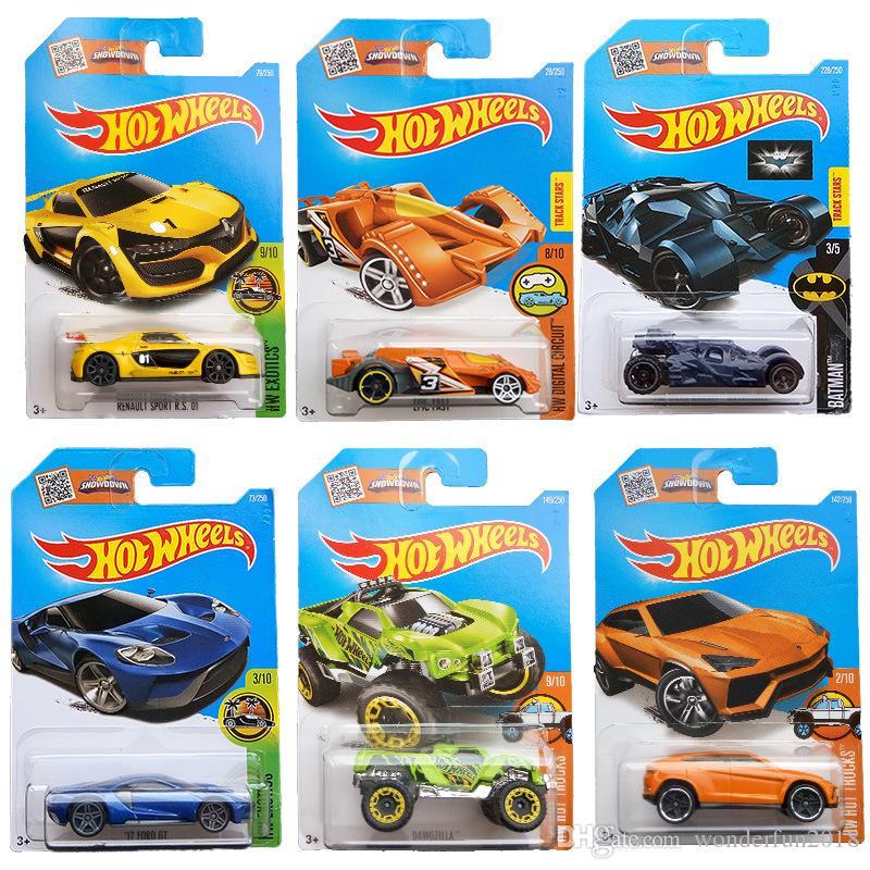 2019 Hot Wheels Car 100% Original Basic Car Toy Mini Alloy