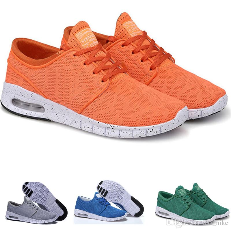 online store cf7ea 2328a 2019 Big Discount New Arrival Mens Running Shoes With Tag New Fashion SB  Stefan Janoski Men And Women Fashion Casual Shoes Euro 36 45 A07 From  Aaa nike, ...