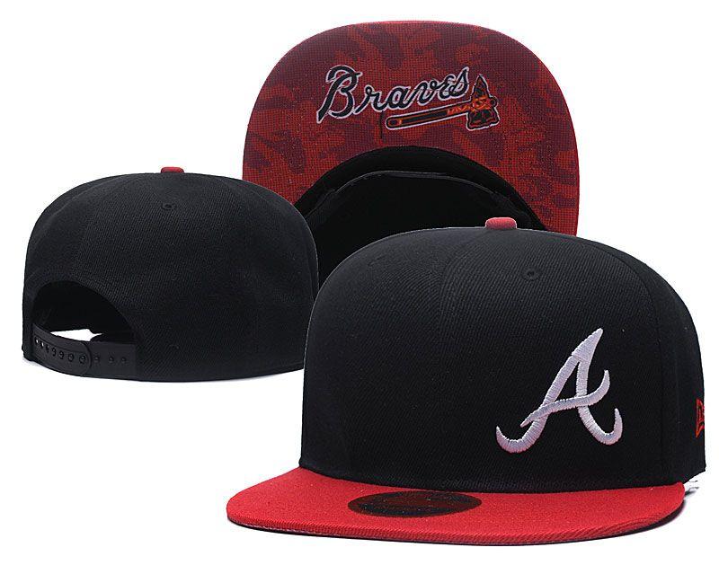 Wholesale Braves Snapback Hat For Men Classic Embroidery Team Logo Bones  Sports Baseball Flat Caps Hip Hop Caps Black Baseball Cap Army Cap From ... 1da1479a449