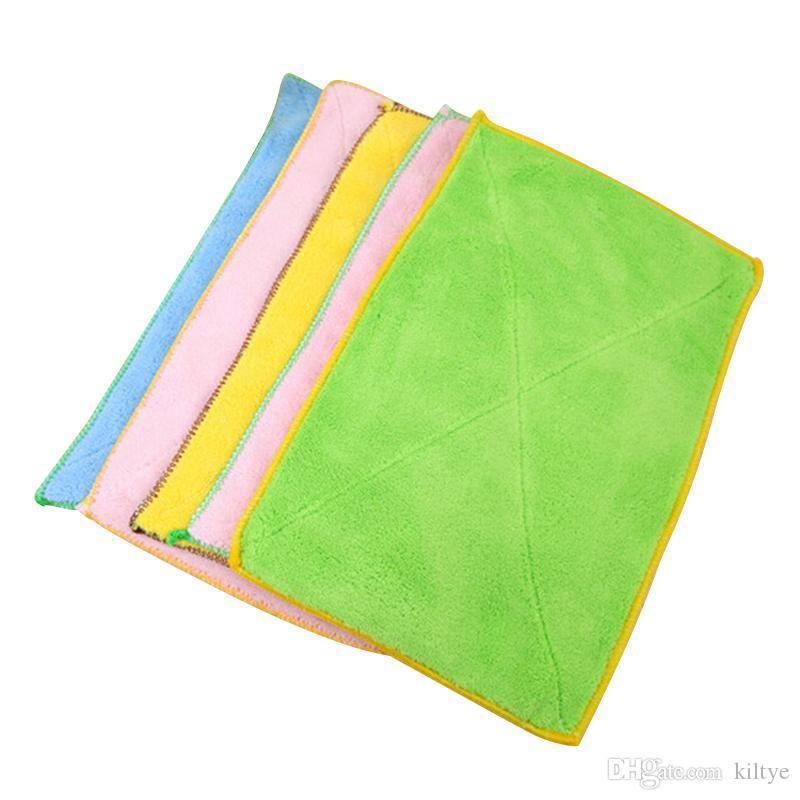2515 cm magic quick dry hand towel microfiber kitchen hand towel cute kidsbaby solid color bathroom considerate luxury towel plush bath towels from kiltye - Kitchen Hand Towels