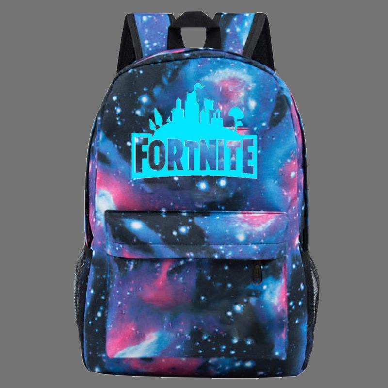 17bc0f2214248 Fortnite Cool Night Luminous Backpack School Bags For Boys And Girls  Schoolbags For Teenagers Printing School Bagpack Satchel Hunting Backpacks  Gregory ...