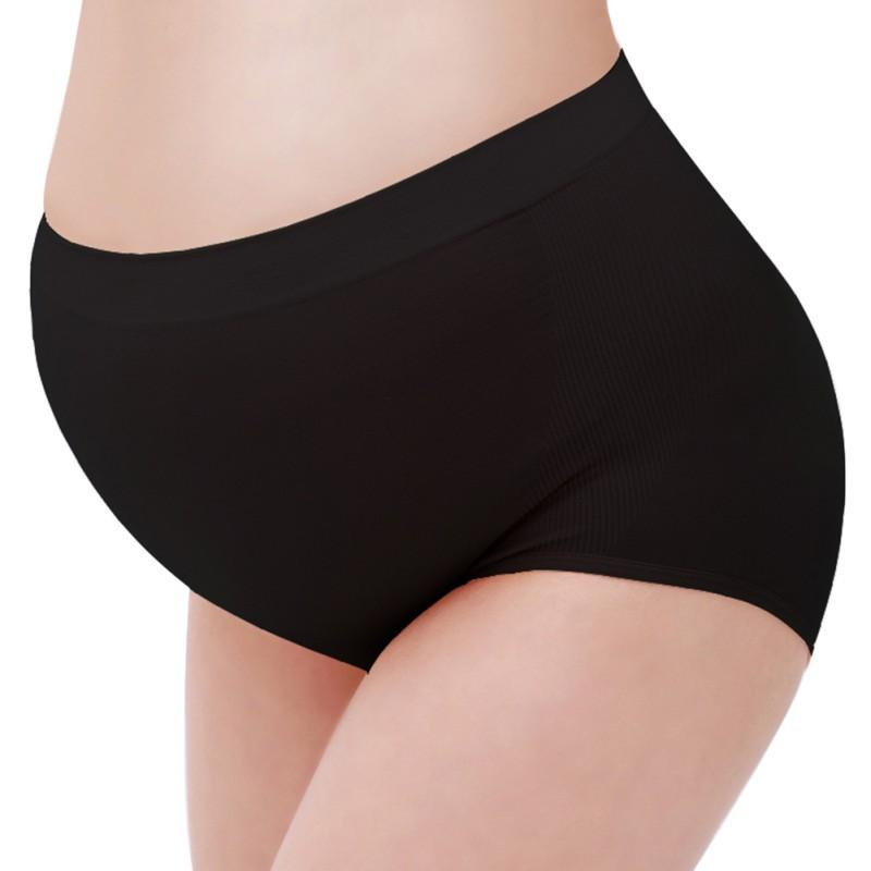 599089a518b27 2019 Maternity Underwear Panties Soft Solid Color Cotton High Waist Briefs  Pregnant Women Panties Clothes Lingerie Briefs Clothing From Qutecloth, ...