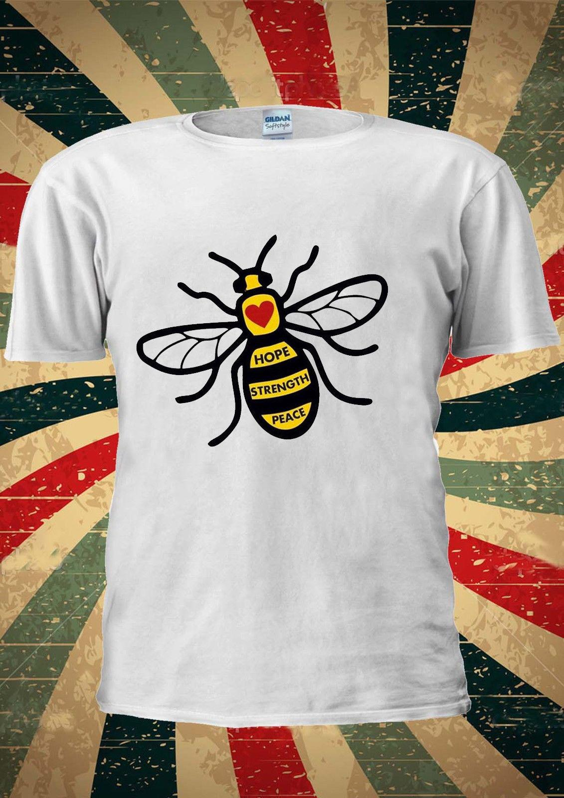 Bee Tattoo T Shirt Men Women Unisex Tshirt Gift Best Select London