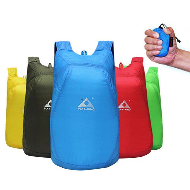 60dcd1332c00 Outdoor Climbing Bag 20L Lightweight Nylon Foldable Backpack ...