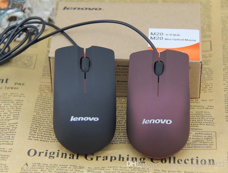 2018 Heißer Verkauf Lenovo M20 Mini Verdrahtete 3D Optische USB Gaming Maus Mäuse Für Computer Laptop Spiel Maus Kostenloser Versand
