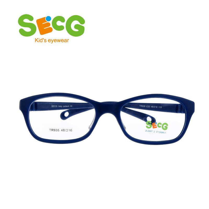 d565e20fb9 2019 SECG Round Big Kids Frame Flexible Soft Optical Glasses Frame  Comfortable Nose Pads Rubber Strap Spectacle Eyeglasses Lunettes From  Prevalent