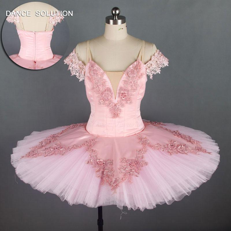 e36770067a 2019 Adult Girls Professional Ballet Tutu Pink Performance Stage Recital  Competition Pancake Tutus Ballerina Dance Costume B18018 From Worsted, ...