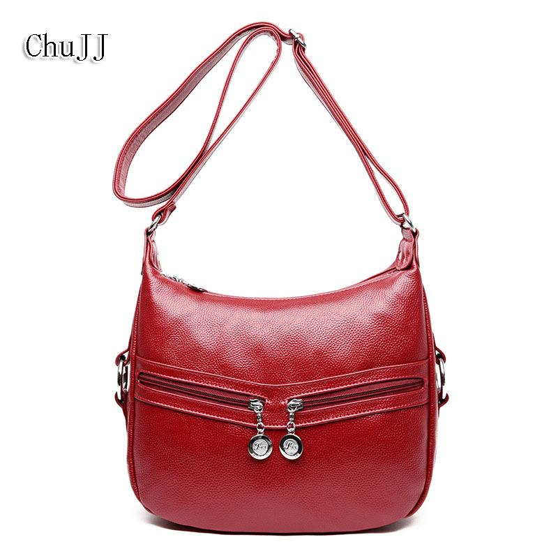 a34f0c687a High Quality Women s Genuine Leather Handbags Shoulder CrossBody Bags Tote  Bag Fashion Messenger Bag Big Size Hobos Women Bags Totes Satchel From  Valineful