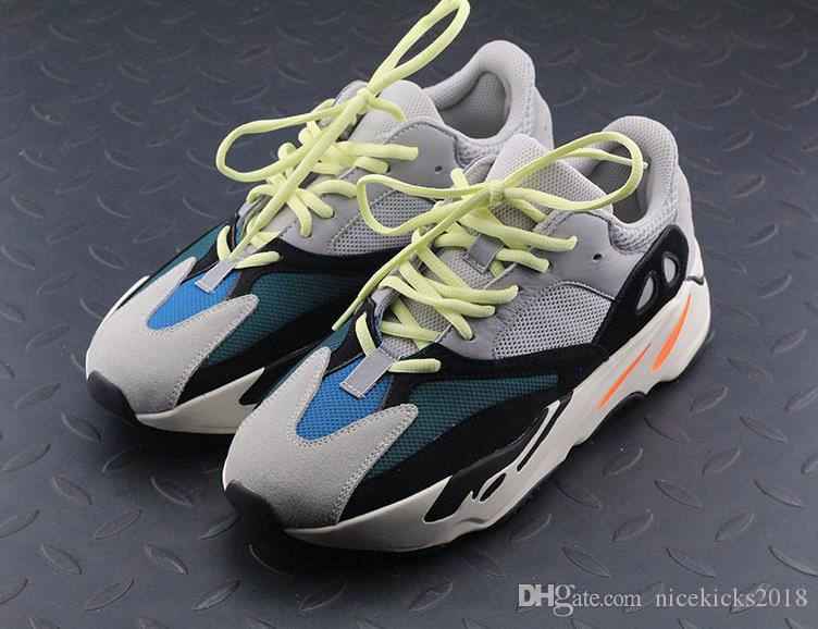 Flash Deal Kanye West Wave Runner 700 Boots Mens Women Basketball Shoe Athletic Sport Shoes Running Outdoor Travel Exercise Workout Shoes