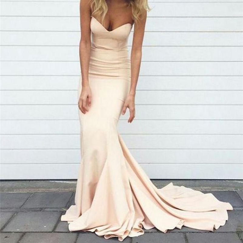 Boutique Prom Dress Mermaid Sweetheart Long Formal Special Occasion Dress  Pageant Evening Party Dress Plus Size Vestidos De Festa Cheap Prom Dresses  ...