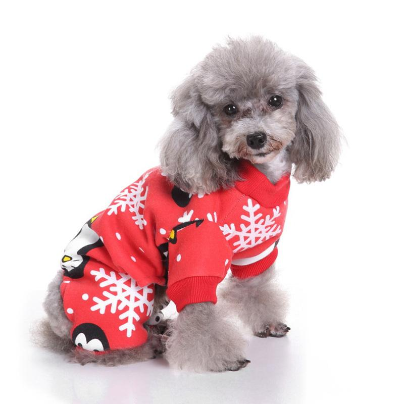 Home & Garden Dog Clothes Pet Soft Christmas Dress Up Festival Hoodie Coat Jacket Cosplay Costume Puppy Clothes For Dogs