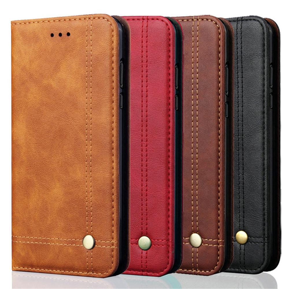 259ebb40099 Compre Para Xiaomi Redmi Note 6 Pro Flip Carteira De Couro De Luxo Retro  Carteira Para Xiaomi Redmi Note 6 Versão Global 6.26    Case Capa De  Jianghaocc