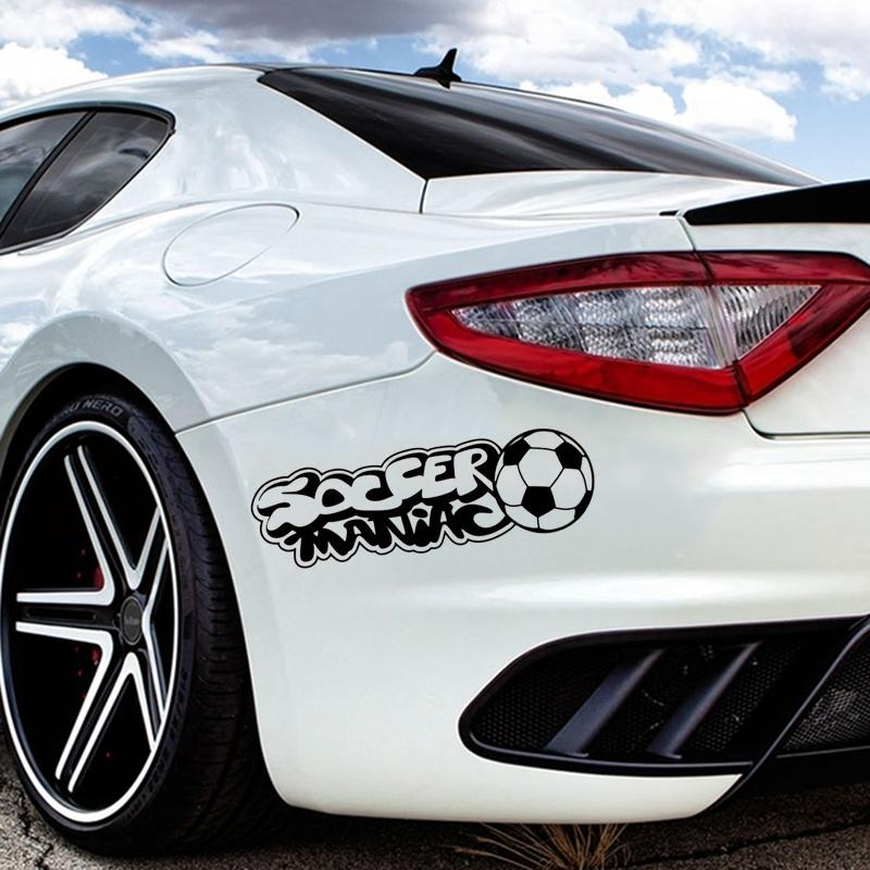 2018 soccer maniac sport hobby football car window sticker art decal vinyl stickers from xymy797 3 12 dhgate com