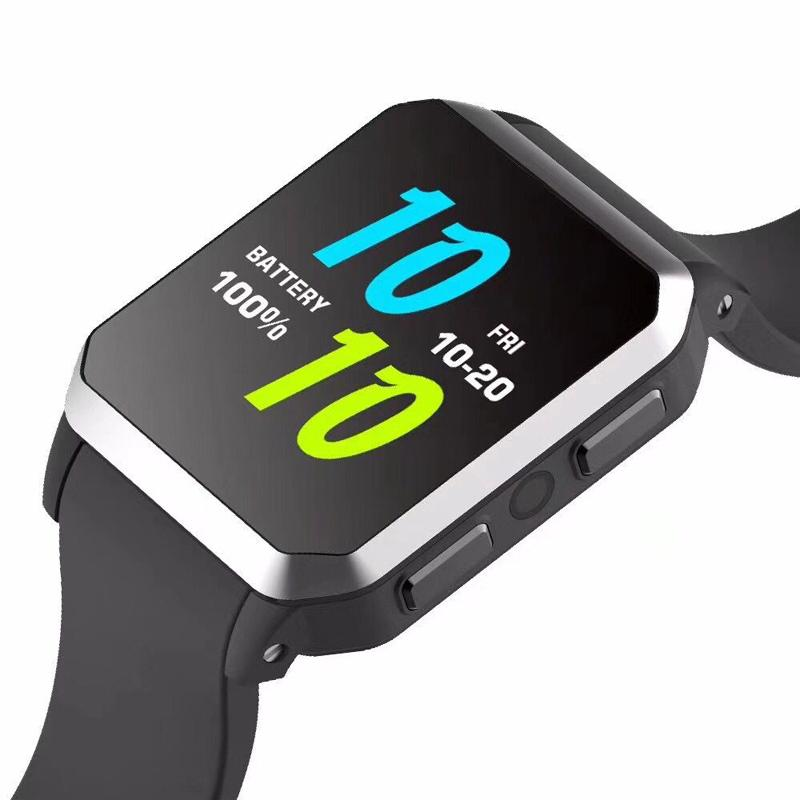Waterproof Smart Watch Android 5.1 MTK6580 Quad Core Smartwatch 3G GPS WiFi Wristwatch Heart Rate Monitor Pedometer KW06 Watches with Camera