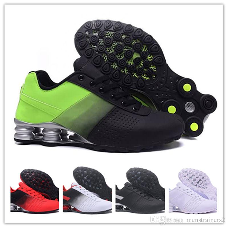 b840d487c6d Mens Shox Designer Sneakers 2018 New Shox Deliver Nz Men Run Sport Trainers  Zapatillas Hombre Airs Cushion Shoes Tn Size Eur40-46 Mens Shox Shox Shoes  Nz ...