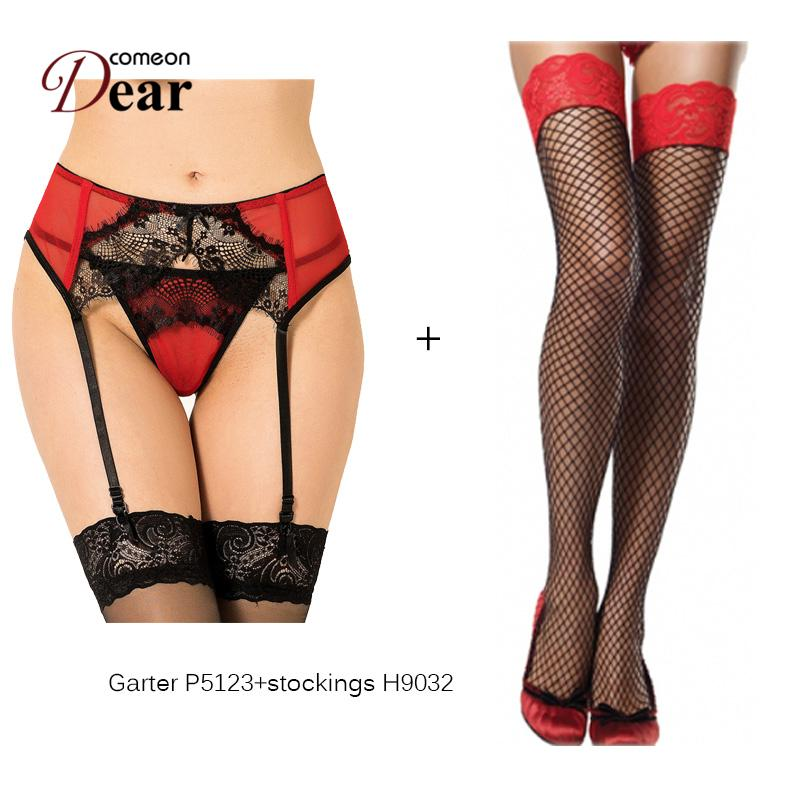 d1f864b901a Comeondear Hot Selling Transparent Ensemble Porte Jaretelles Garter Wedding  Sexy Garter Belt Stocking B5123 Suspenders Women Sex Sexy Garter Belt  Stocking ...