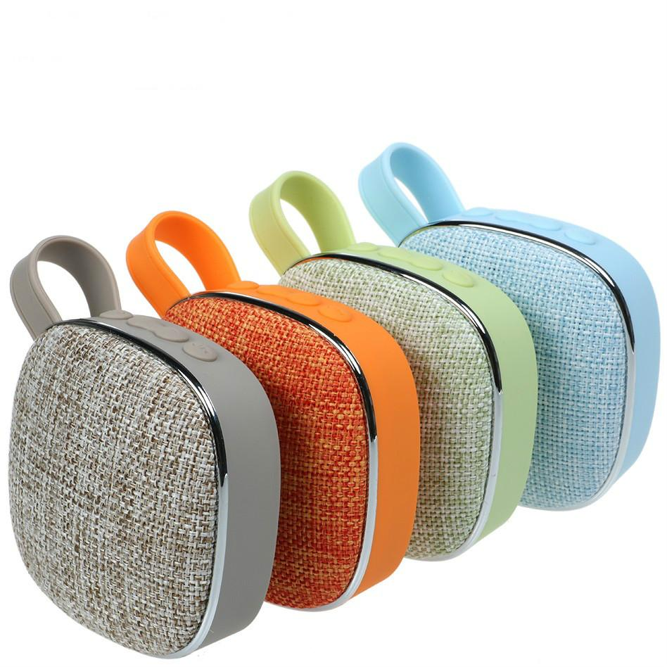 X25 Fabric Bluetooth Speaker Portable Wireless Cloth Subwoofer MP3 Player  FM Radio Audio TF Card Reader AUX Play for Iphone Android