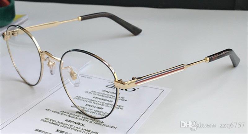 8b8735a809c70 Acheter Nouvelle Mode Femmes Designer Lunettes Optiques 0290 Cadre Rond  Cadre Charmant Avec Une Qualité Supérieure De Lentille Claire De  50.26 Du  Zzq6757 ...