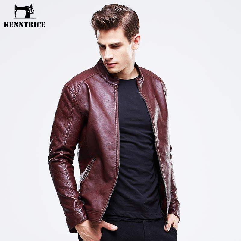 2019 Wholesale KENNTRICE EURO 2016 Leather Jacket Fashion Black Men Leather  Jacket Cheap Clothes China Jacket Coat Stand Collar From Yukime 6a13d35cfac66
