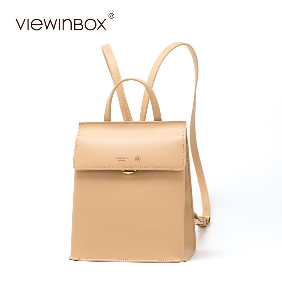 cc213360a626 Viewinbox Fashion Backpacks For Teenage Girls Women S Split Leather  Backpack School Bag Casual Large Capacity Travel Backpack Backpacks For  College ...
