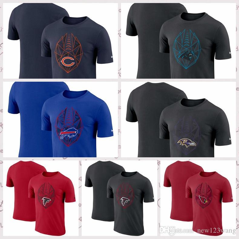 buy online 95929 4fb9e Baltimore Ravens Chicago Bears Atlanta Falcons Arizona Cardials Carolina  Panthers Fan Gear Icon Performance T-Shirt