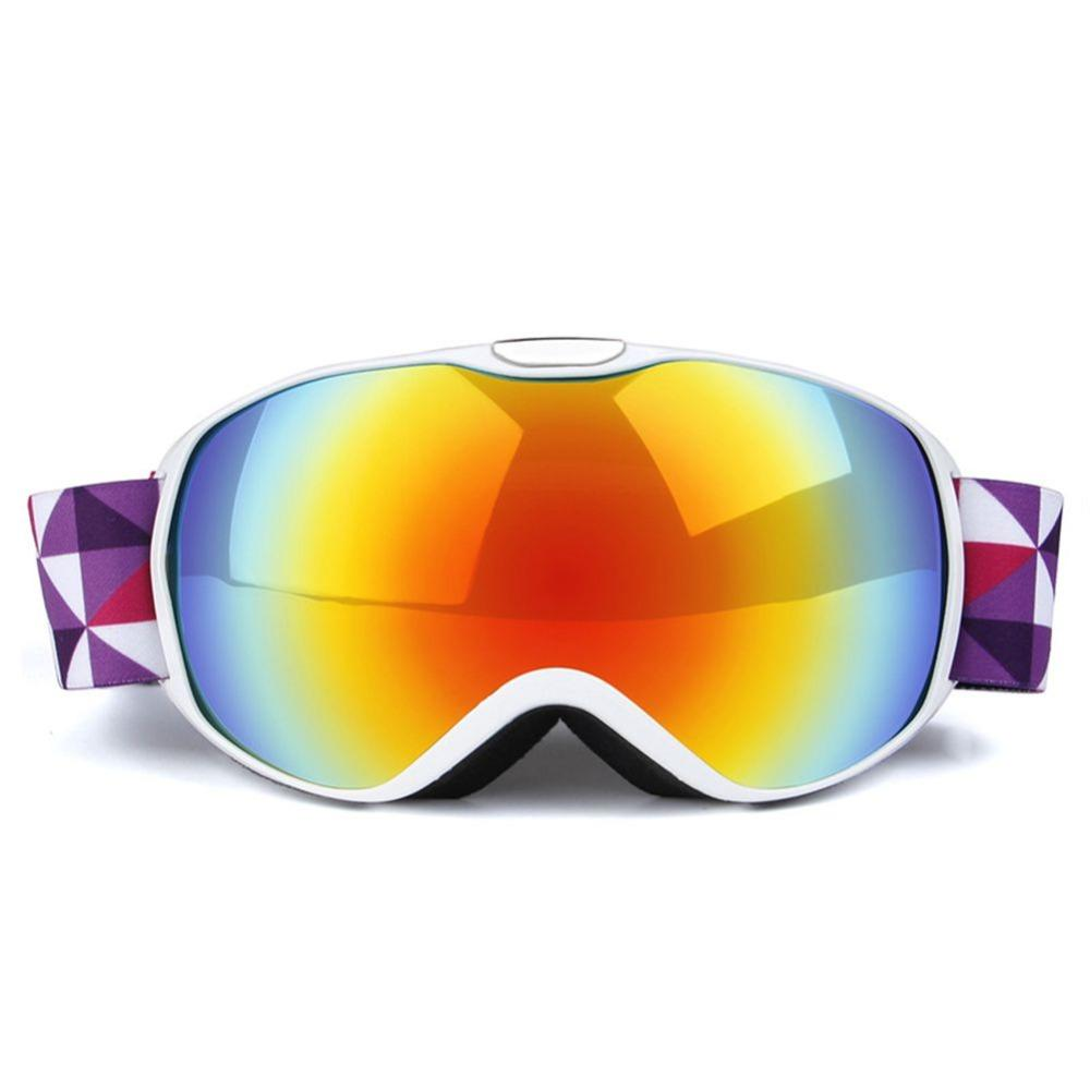 5650079df7 2019 Professional UV400 Kids Windproof Ski Goggles Climbing Double PC Lens  Anti Fog Skiing Mask Glasses Girls Boys Snowboard Eyewear From Ixiayu