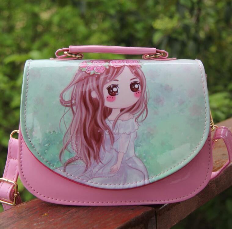 e346a7c9d8 Kids Bags Purse Cat Children Princess PU Leather Bag Crossbody Single  Shoulder Bag Handbag 18 14 Cm Baby Mini Bag Cute Design Girls Purses And  Bags Girls ...