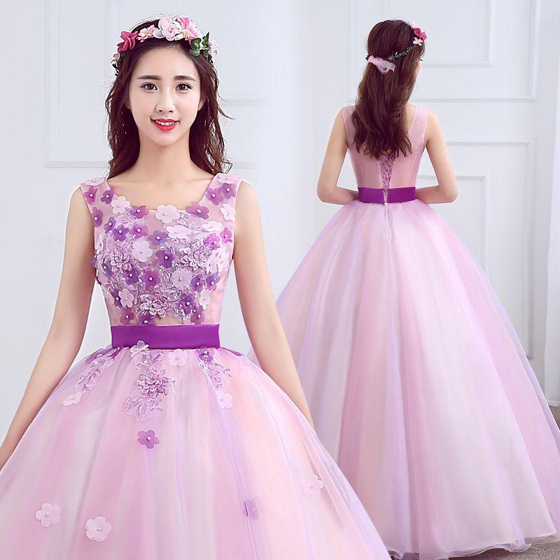 Vestidos De Quinceañera Violeta Vestidos De 15 Años Largo Para ...