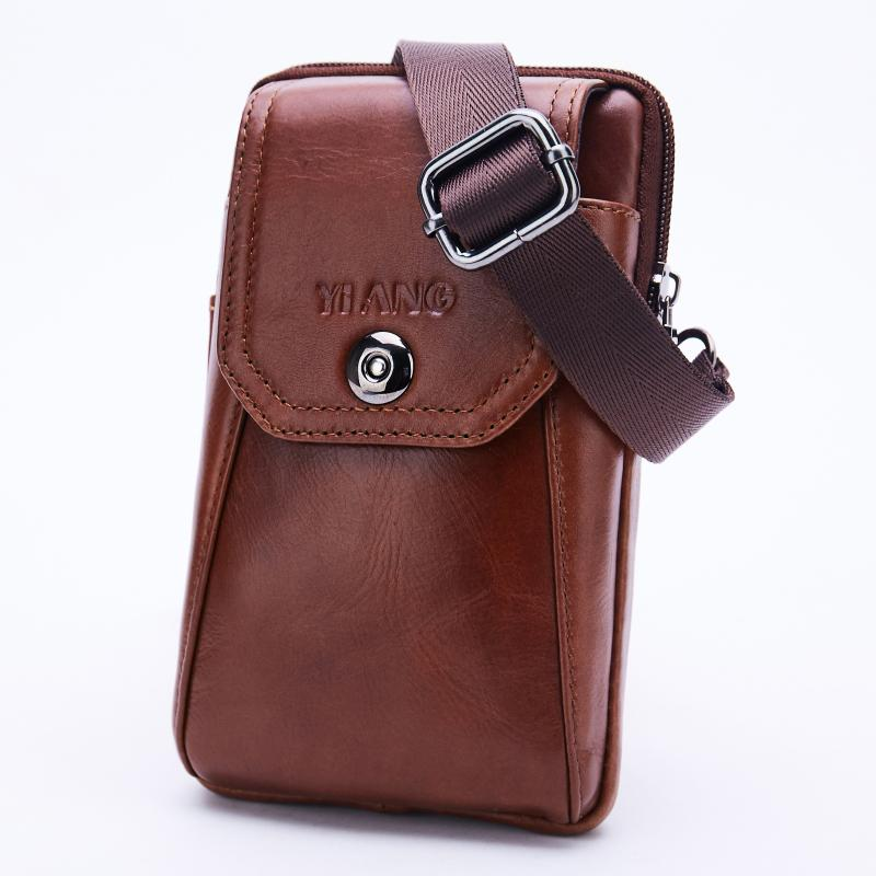 76489d266095 Men S Hook Belt Fanny Waist Pack Purse Hip Bum Cell Phone Case Pouch  Fashion Genuine Leather Male Small Cross Body Shoulder Bags Backpacks With  Wheels Best ...