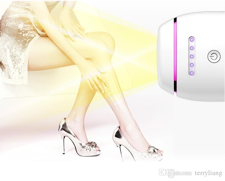 أحدث جهاز إزالة الشعر الدائم بالليزر آلة نزع الشعر MINI IPL لإزالة الشعر 300000 المتعري استخدام المنزلي الجسم بيكين تحت الإبط depilator الشعر