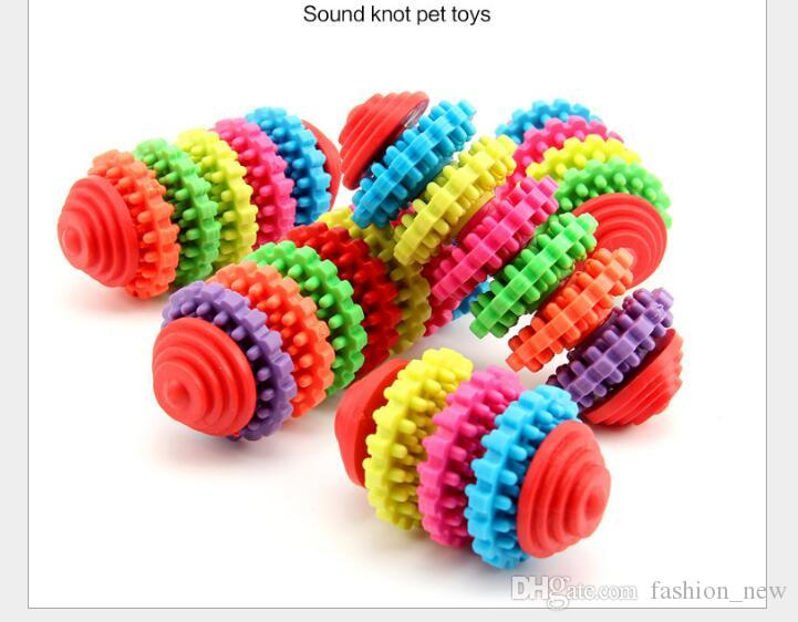 5 Arten Gummi Hund Kauen Spielzeug für Kleine Hunde Spielen Spielzeug Welpen Reinigen Zähne Zahnfleisch Training Werkzeug Zahngesundheit Bunte Pet Spielzeug