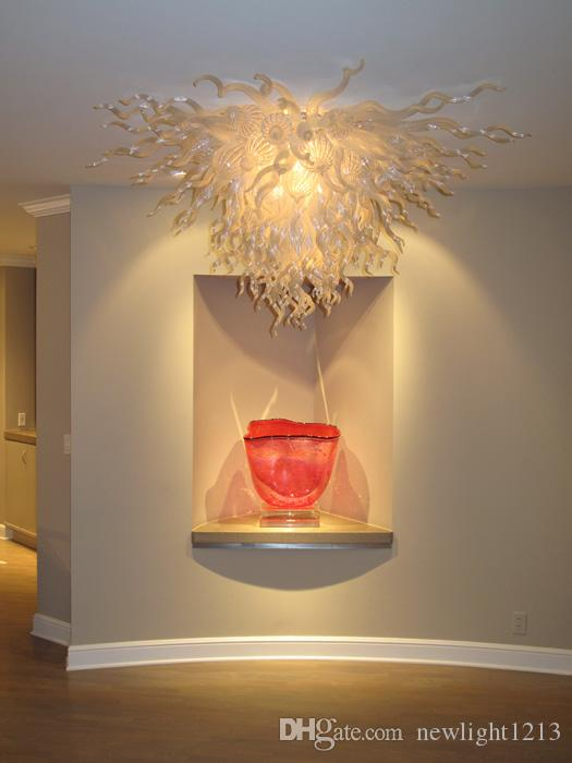 Contemporary Ceiling Lamp White Color Wedding Ceiling Chandelier Lighting LED Lights CE UL certificate Table Top Centerpieces Ceiling Lamps
