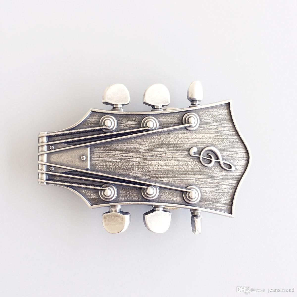 d7478cb13b3f New Vintage Silver Plated Guitar Head Music Belt Buckle Gurtelschnalle  Boucle De Ceinture BUCKLE MU044SL Brand New Canada 2018 From Jeansfriend,  ...