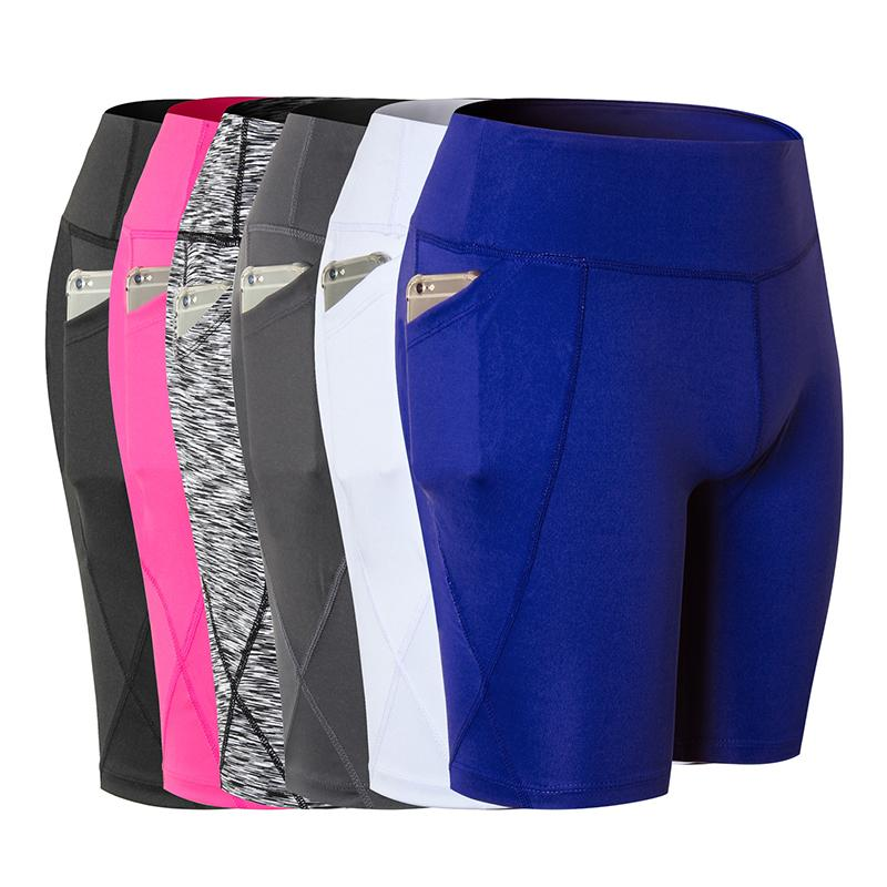 2018 Hot Sale Women Yoga Shorts Quick Dry Camouflage Sporting Trouser Gym Training Sports Yoga Running Shorts For Women