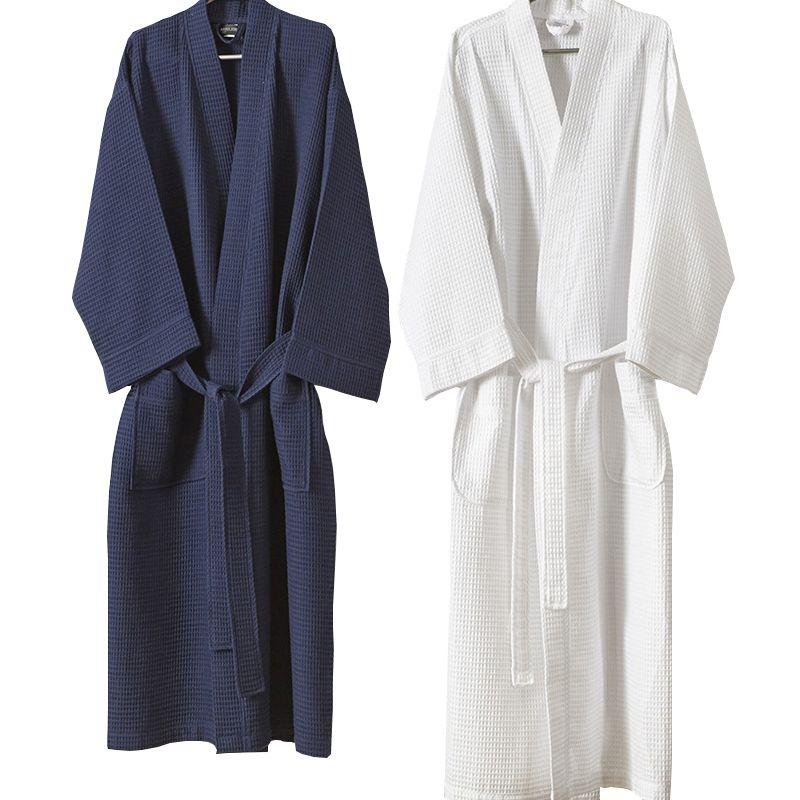 ba2e281af3 2019 Hot Sale Womens 100% Cotton Kimono Waffle Bath Robe Sexy Women Plus  Size Bathrobe Bridal Bridesmaid Robes Wedding Dressing Gown From  Movearound