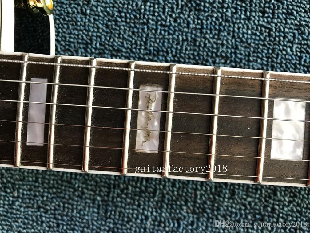 Hot Sale Wholesale high quality black beauty maple top mahogany body 3 pickup Ace Frehley Signature electric guitar