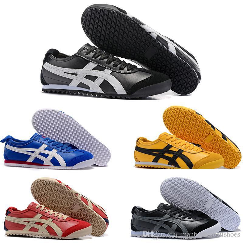 more photos 7f866 72bfd Compre Zapatillas De Running Asic Gel De Tigre Lyte Para Hombre Zapatillas  De Deporte Mujeres Triple Blanco Moda De Cuero Deportivo Zapato Deportivo  Corss ...