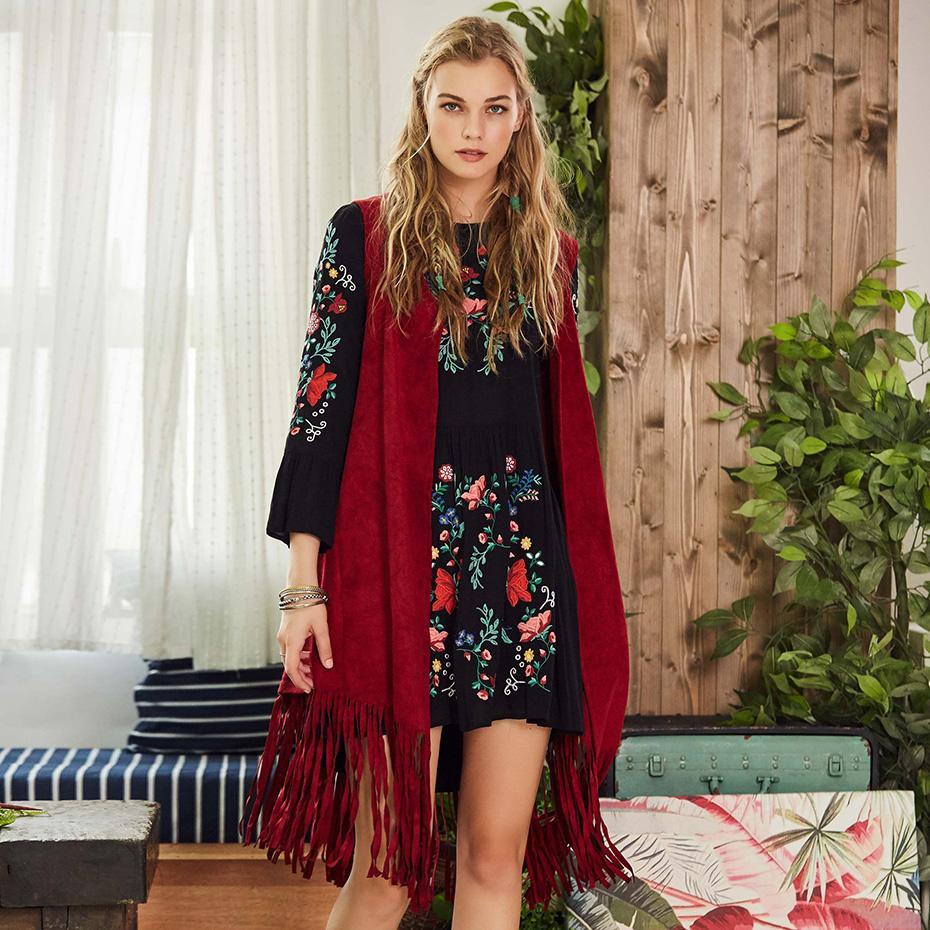 4bd602213188eb 2019 Bohoartist Women Autumn Spring Vest Waistcoat Boho Knitted Long  Cardigan Sleeveless Coat Women Coat Casual Sweater Vest Jacket From Yukime