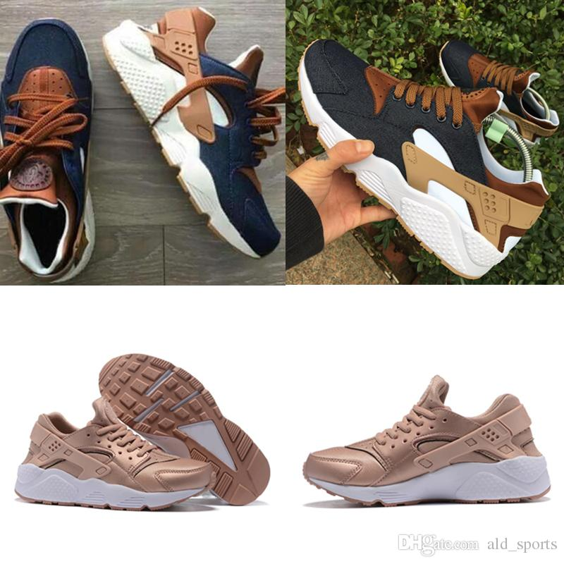7ab87062ebd4 2018 New Huarache Ultra ID Custom Breathe Running Shoes Men Women ...