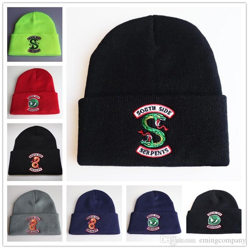 8d7cebafaea Quality Designer Riverdale Embroidery Acrylic Knitted Beanies Winter Hats  Adults Mens Womens Head Warmer Man Woman Snow Cap Beanie Designer Beanie  Designer ...