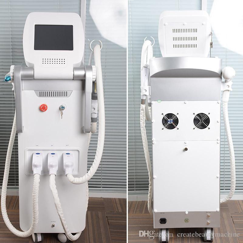 Высококачественный лазерный лазер для удаления пятен на аппарате для удаления пятен с помощью лазера Opt SHR / IPL + Elight + RF + ndyag