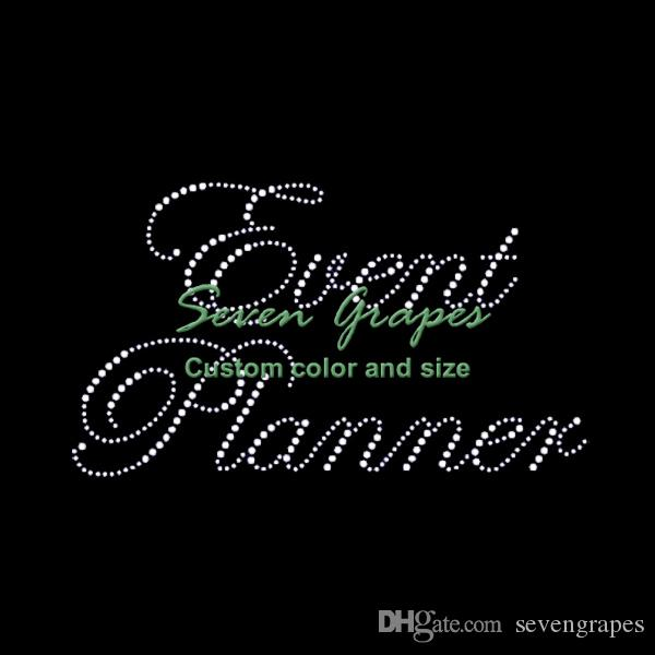 6df514d05 2019 Event Planner Rhinestone Heat Transfers Wholesale For Clothing From  Sevengrapes, $2.2 | DHgate.Com