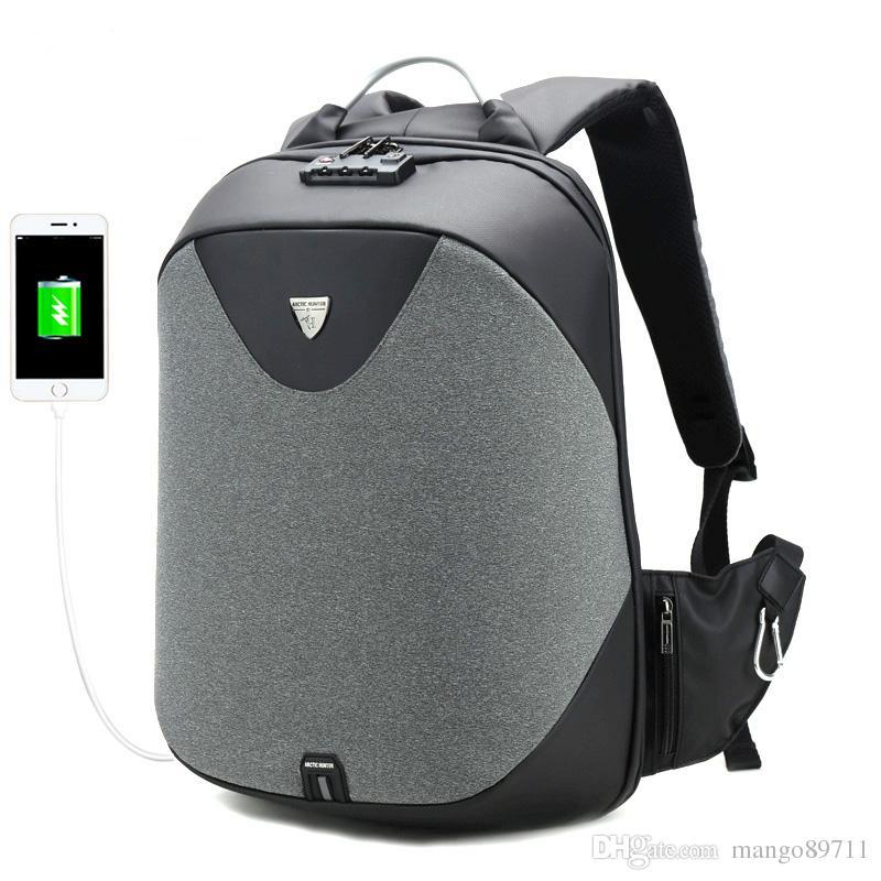 c4e83b878917 School Backpacks 15.6 Laptop Backpack Men Waterproof Mochila Casual Travel  USB Charge Back Pack Male Bag Gift Small Backpack Backpack Brands From  Mango89711 ...