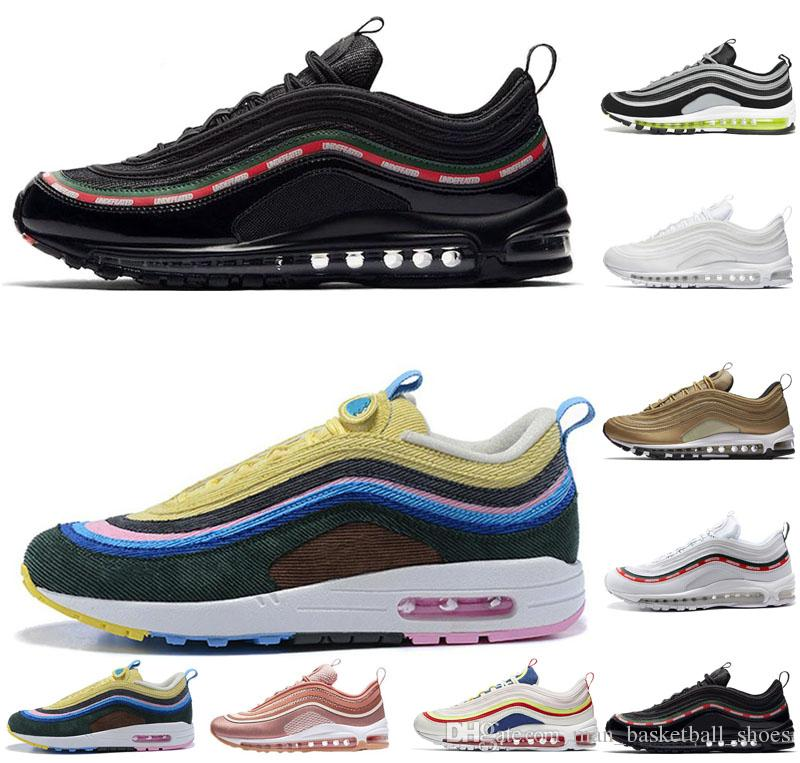 6584be631edebc New 97 X UNDEFEATED OG UNDFTD Men Running Shoes 97s Metalic Gold SE ...