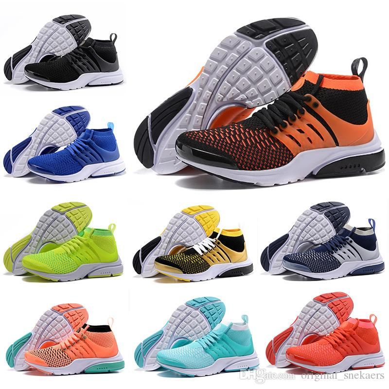 288c8ce0421 Drop Shipping Air Presto Running Shoes TRIPLE BLACK WHITE Volt ...