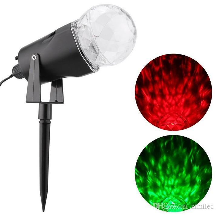 Großhandel Led Rotierenden Projektionslicht Mit Flamme Beleuchtung ...